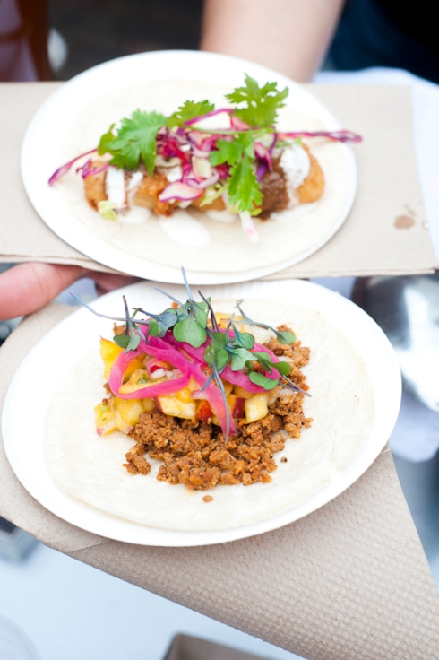 Tacos from La Carnita at Food Truck Eats