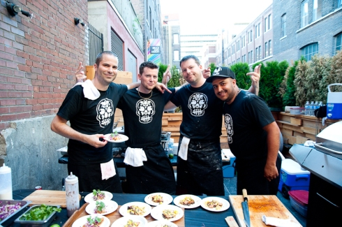 Andrew, Josh, Kurt and Steve - The La Carnita Crew