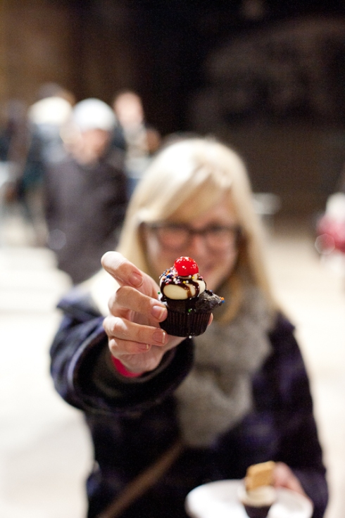 Mini cupcakes from Sullivan & Bleeker Baking Co. at Toronto Underground Market