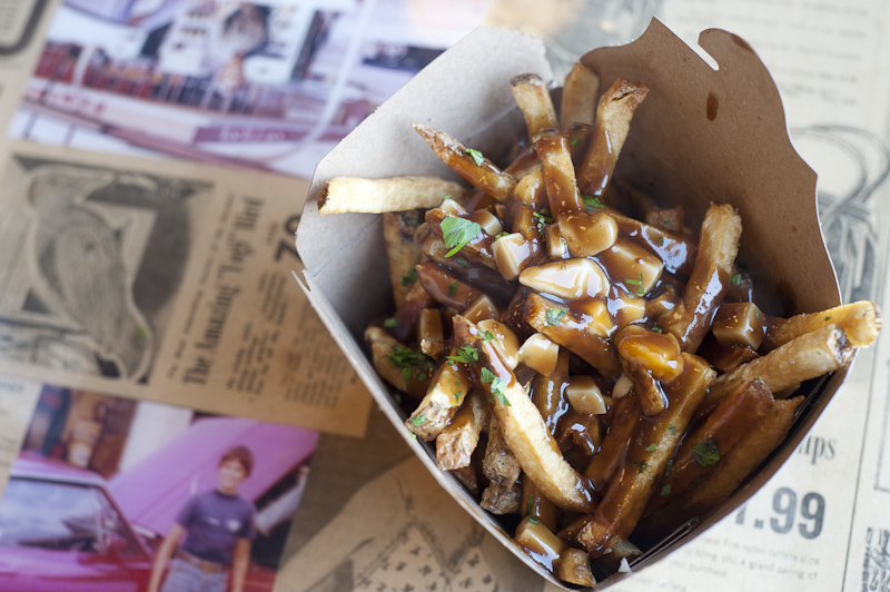 Poutine at Leslieville Pumps General Store & Kitche